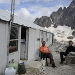 Visite à Didier, le voisin au refuge du Pavé !