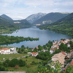 Lago di Barrea von Barrea aus
