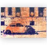 NEW YORK 1979, 2017, Kugelschreiber und Tusche auf Papier, 20 x 28 cm