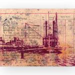 NEW ORLEANS 1903, 2017, Kugelschreiber auf Papier, 18 x 24 cm