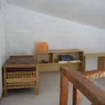 Le 2ème étage, la mezzanine