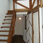 Le 1er étage, attention à l'escalier de meunier pour accéder au 2ème étage