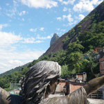 Mickael Jackson Statue in Dona Marta Favela