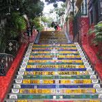 Selaron famous steps (Lapa)