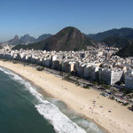 Copacabana from the sky