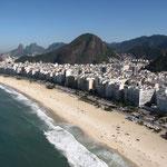 Copacabana from the sky