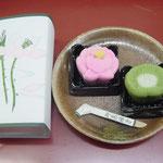 お茶菓子(上生菓子 蓮)