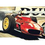 Lorenzo Bandini Monaco 1967 (65x50cm)