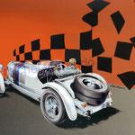 Mercedes SSKL 3/4 Ar. (65x50cm)