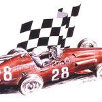 Stirling Moss Monaco 1956 (65x50cm)