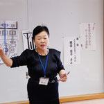 安全安心ケータイ活用術は「NPO法人竹箒の会」の橋詰さんが講師を務めてくれました