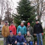 Die Weihnachtsmänner - Fred, Gerhard M., Gerhard F, Karl, Alfred, Franz, Johann und Leo