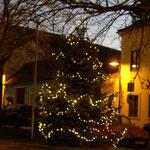 Ein schöner Weihnachtsbaum für die Bevölkerung