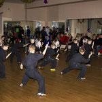 Первые показательные Вин Чун в Elite-Fitness. 24.12.2011.