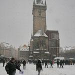 Altstädter Rathaus - auch bekannt durch mehrere Prager Fensterstürze