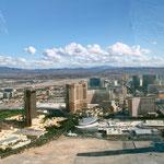 Rückflug auf Las Vegas