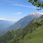 Bergpanorama kurz vor der Leiteralm