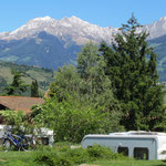 Panoramablick vom Campingplatz