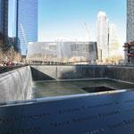 Ground Zero - sehr beklemmend hier zu stehen!