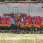 tolle Graffiti im äusseren Hafenbereich von Mali Losinj