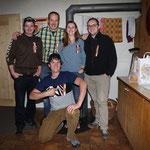 Gruppe GM: oben Renfer Christian, Huber Alexander, Huggler Steffi, Huggler Thomas; unten Egger Markus