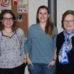 Gewinner Damenstich vlnr.: Huggler Stephanie (3), Huggler Steffi (1), Michel Trudy (2)