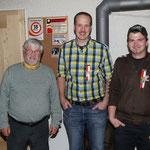 Gewinner Saustich vlnr.: Stettler Franz (2), Huber Alexander (1), Renfer Christian (3)