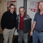 Gewinner Glockenstich vlnr.: Hugger Thomas (2), Wenger Godi (1) Kehrli Alexander (3)
