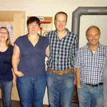 Sie und Er Sieger: vlnr. Egger Markus/Huggler Stephanie (2.); Huber Nicol/Alexander (1.); Bauer Markus/Kathrin (3.)