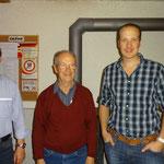 Glockenstich-Sieger: vlnr. Kehrli Alexander (2.); Kehrli Walter (1.); Huber Alexander (3.)