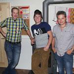 Gewinner Adlerstich vlnr.: Huber Alexander (2), Egger Markus (1), Bauer Franz (3)