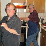 Das Küchenteam...