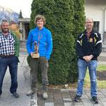 Gewinner Boozistich vlnr.: 3. Peterle Markus; 1. Egger Markus; 2. Kehrli Alexander