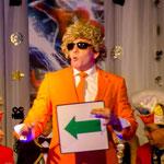 "Comedy-Zauberer Peter Karl alias ""Ted Louise"""