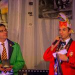 Oberbürgermeister Thomas Hirsch und Präsident Tobias Paul