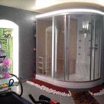 Cabine douche, hammam et sauna
