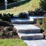 Escalier en pierre de Sembrancher