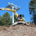 Remblayage de pylônes, Consortium Télé-Grillesses