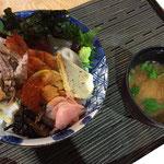 下津井の海鮮丼