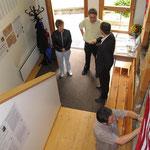Blick in die Ausstellung zur Auswanderung von 2005.
