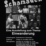Plakat Ausstellung Schamauch 2006