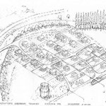 Plan einer Wohnsiedlung 1938 im Tschachen, heute Industriequartier