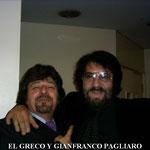 GRECO Y GIANFRANCO PAGLIARO