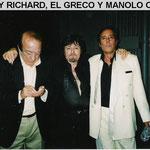 GRECO, MANOLO OTERO Y BUDDY RICHARD EN N. Y.EE.UU.
