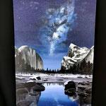 """""""Milky Way"""" Acryl auf Leinwand"""