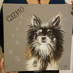"""Gizmo"", Acryl auf Leinwand"