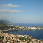 Blick von Nizza Richtung Menton und Monaco