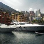 Hafen von Monaco - viele tolle Yachten gibt es hier zu sehen