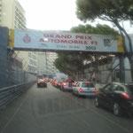 Vorbereitungen für den Grand Prix