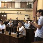 尾道では、設計事務所アーキツリーの青山修也さん司会で、NPO法人空き家再生プロジェクトの豊田雅子さん、ゲストハウスを経営する村上博郁さんなどが参加。